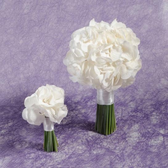 Букет невесты из Гортензии