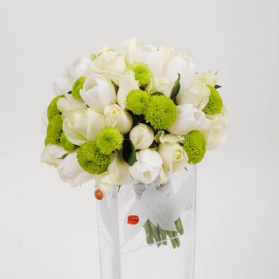 Букет невесты каталог киев камелия, роз купить недорого