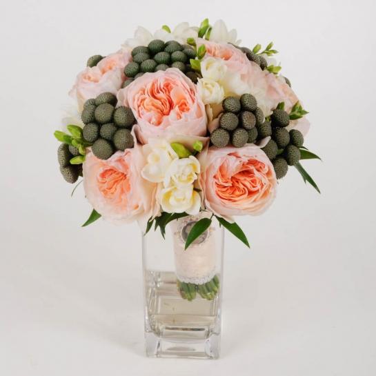 Букет невесты из роз Дэвида Остина
