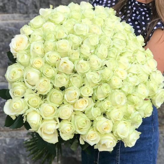 Букет из 101 розы Аваланч