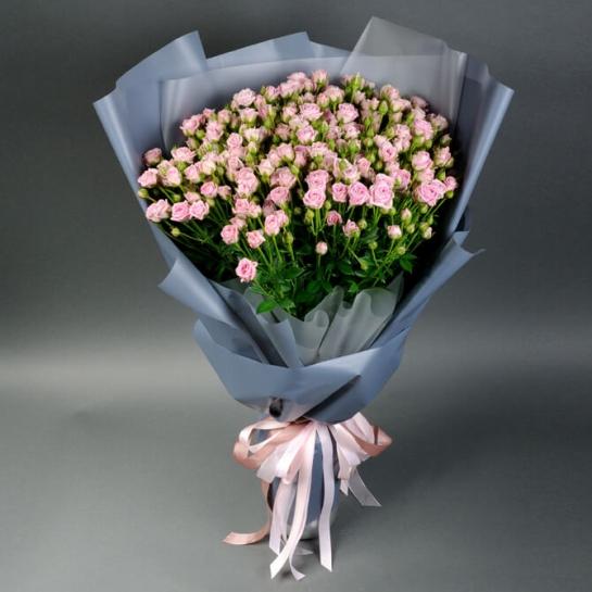 Букет із 35 троянд спрей Хеппі Йо-йо