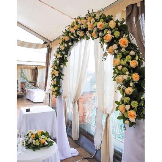 Свадебная арка в стиле Rustik