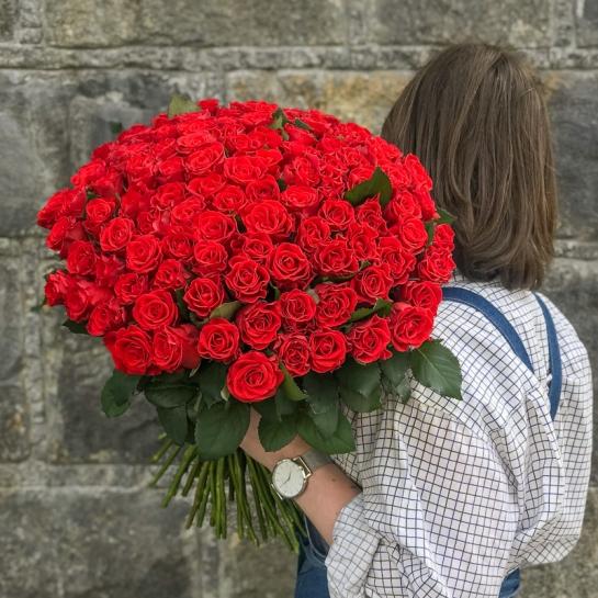 Букет из 101 розы Эль Торо