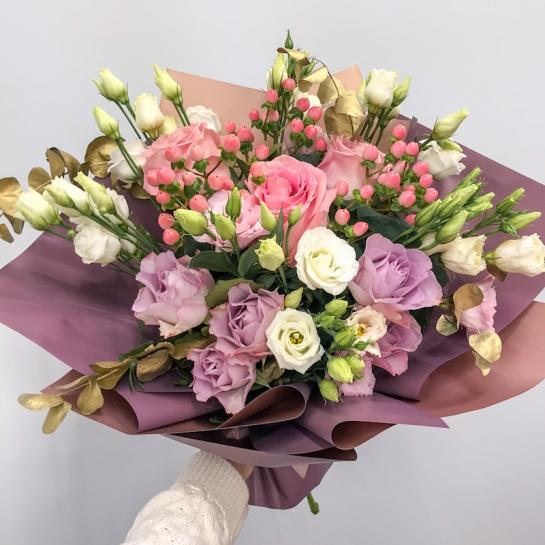 Букет с эквадорской розой