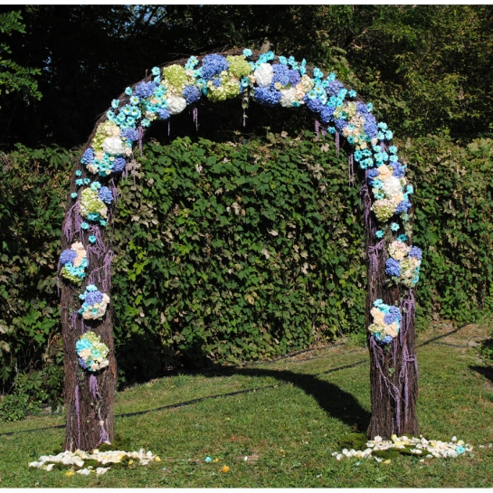 Свадебная арка Бирюзовая свадьба