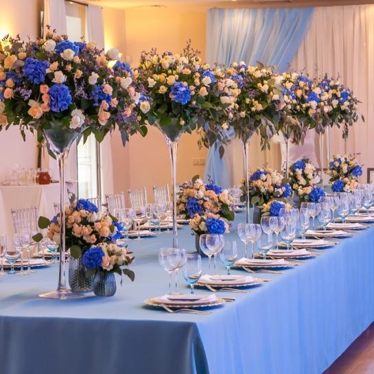 Свадебное оформление в отеле