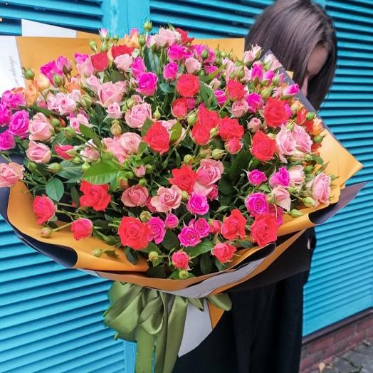 Акція на троянди спрей з 21 до 27 вересня