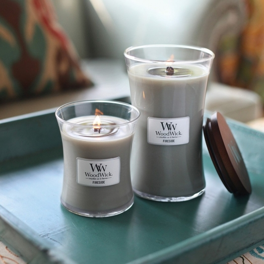 American natural candles WoodWick
