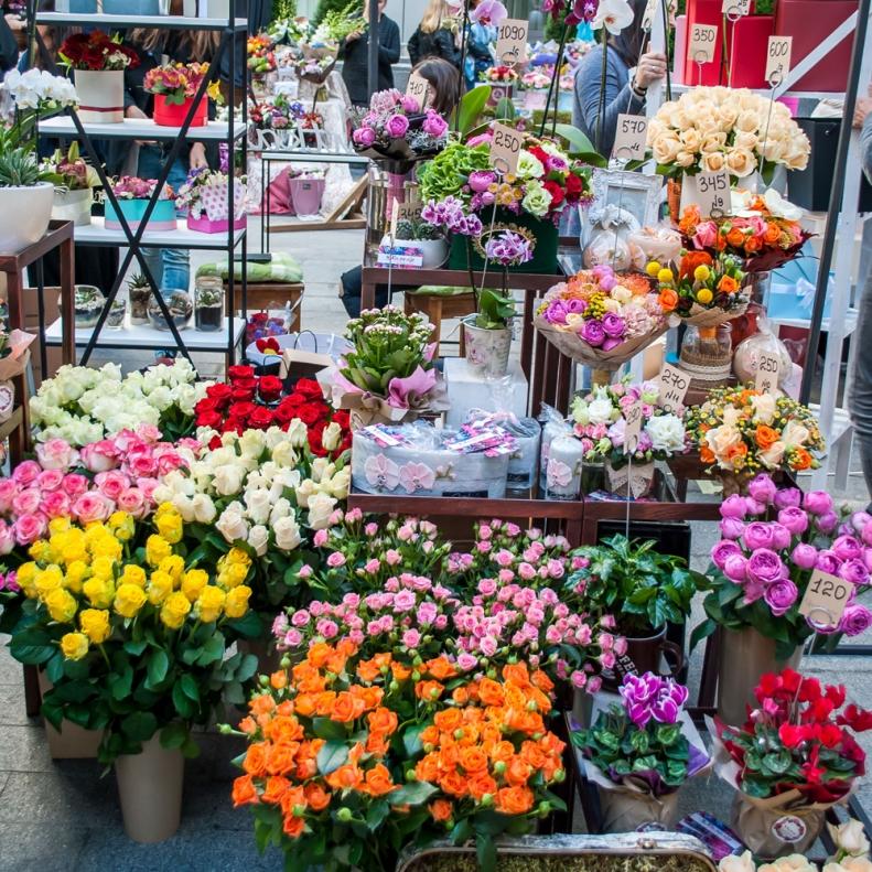 Оптовые рынки цветов в киеве, букеты